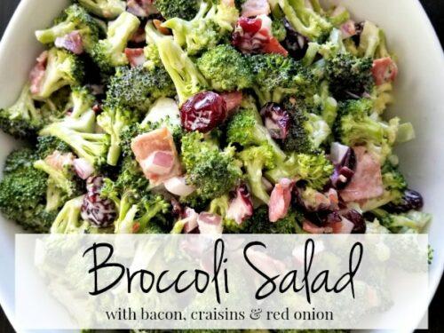 Broccoli Salad Recipe No Bacon