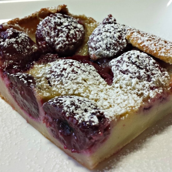 Cherry Clafouti is one of the first dishes I make when cherry season rolls around. Cherry Clafouti | A Reinvented Mom