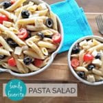 Favorite Pasta Salad Feature #2 | A Reinvented Mom
