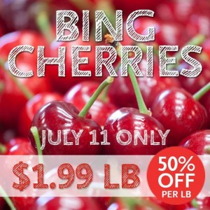 Friday Freebies, Cherry Sale and More – 7/11/14