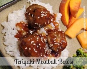 #5 - Teriyaki Meatball Bowls