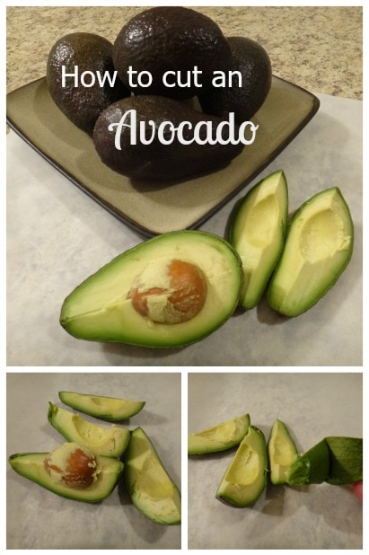 How to Cut an Avocado | A Reinvented Mom