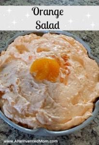 Orange Salad | A Reinvented Mom