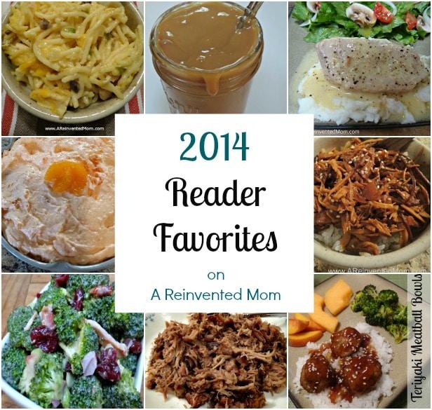 2014 Reader Favorites | A Reinvented Mom