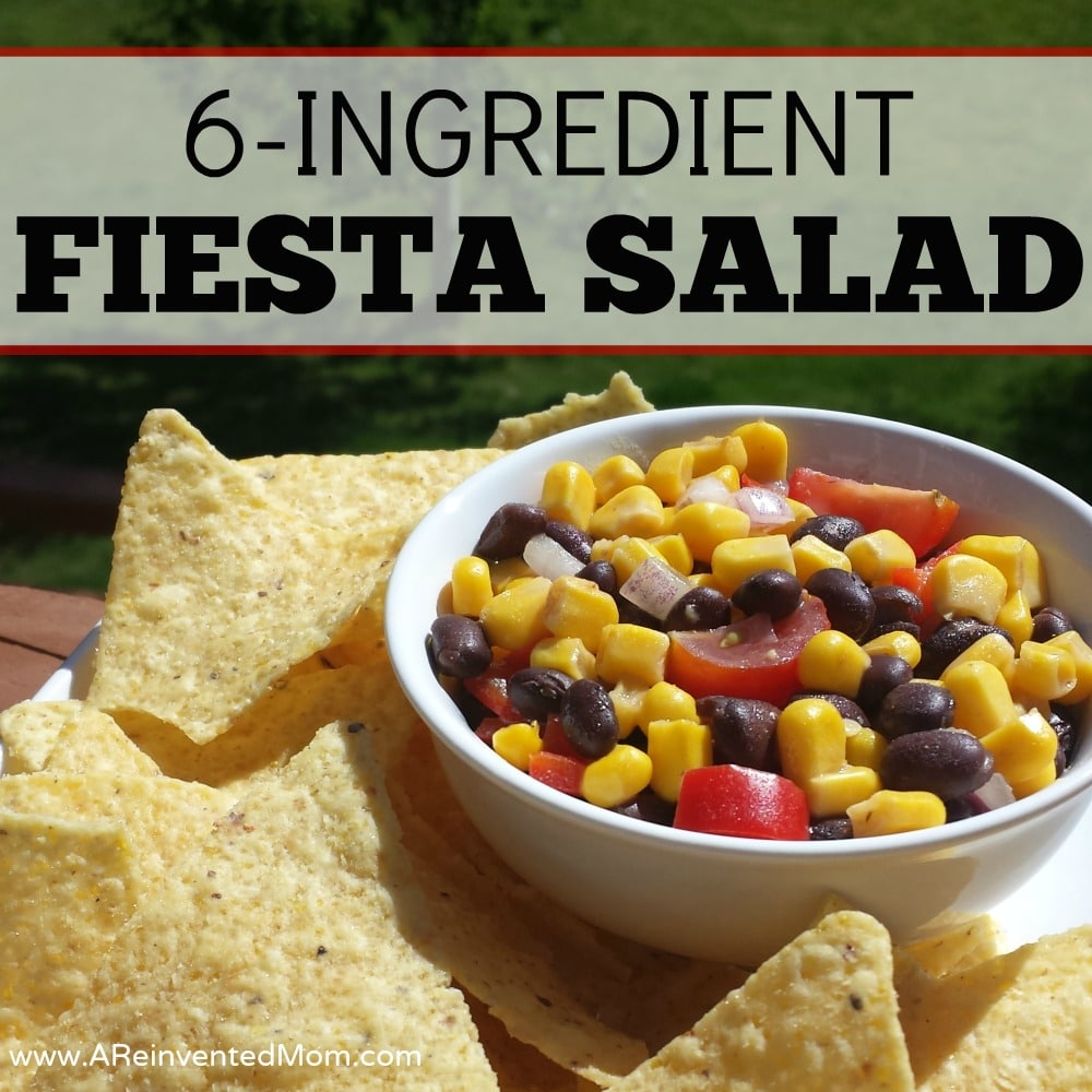 6-Ingredient Fiesta Salad - Featured 2 | A Reinvented Mom