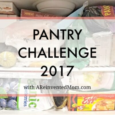 Pantry Challenge 2017 – Getting Started & Free Printable