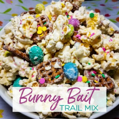 Easy Snack: Bunny Bait Trail Mix {No Baking}