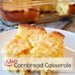 Katie's Cornbread Casserole - Perfect for parties, potlucks & picnics | A Reinvented Mom