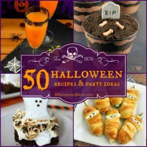 50 Halloween Recipes & Party Ideas
