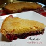 Nantucket Cranberry Pie | A Reinvented Mom