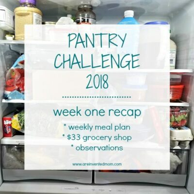Pantry Challenge 2018 – Week 1 Recap