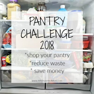 Pantry Challenge 2018 – Getting Started & FREE Inventory Printable