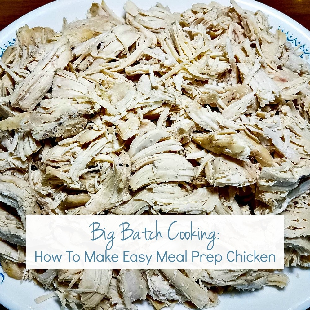 Easy Meal Prep Chicken Feature | A Reinvented Mom