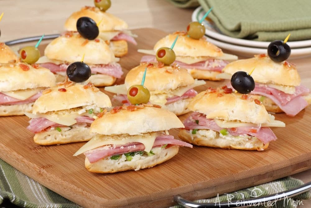Using Leftover Party Food Party Sandwiches | A Reinvented Mom #partyleftovers #leftoverpartyfood