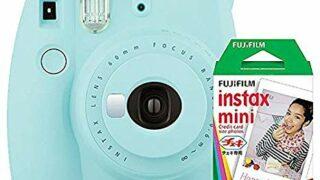 Fujifilm Instax Mini 9 Instant Camera with Mini Film Twin Pack