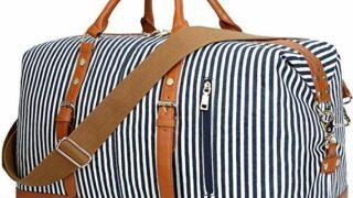 CAMTOP Weekend Travel Bag w/Leather Trim