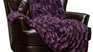 Chanasya Fluffy Plush Throw Blanket