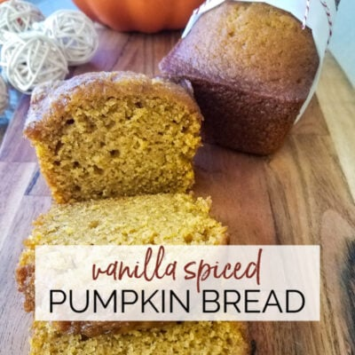 Vanilla Spiced Pumpkin Bread