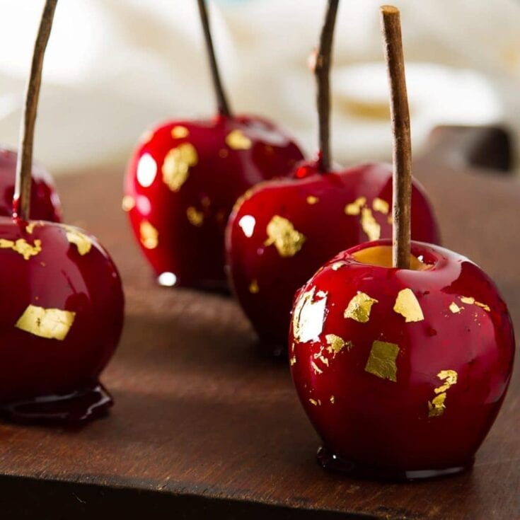 1960's Cinnamon Candy Apples