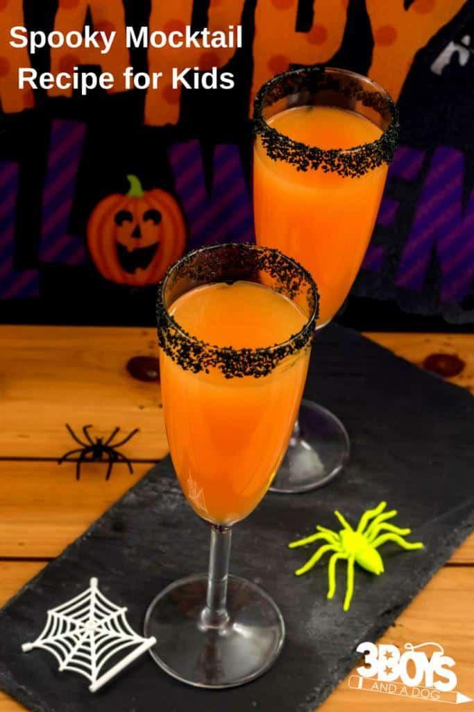 Spooky Halloween Mocktail Recipe