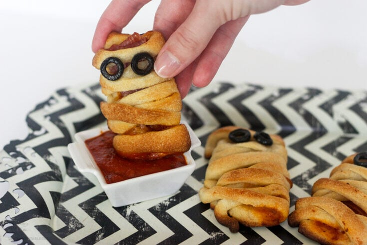 Pizza Bites - Perfectly Easy Kids' Halloween Party Food