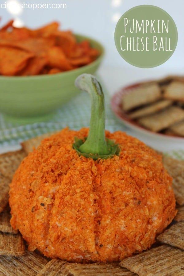 Nacho Pumpkin Cheese Ball Recipe
