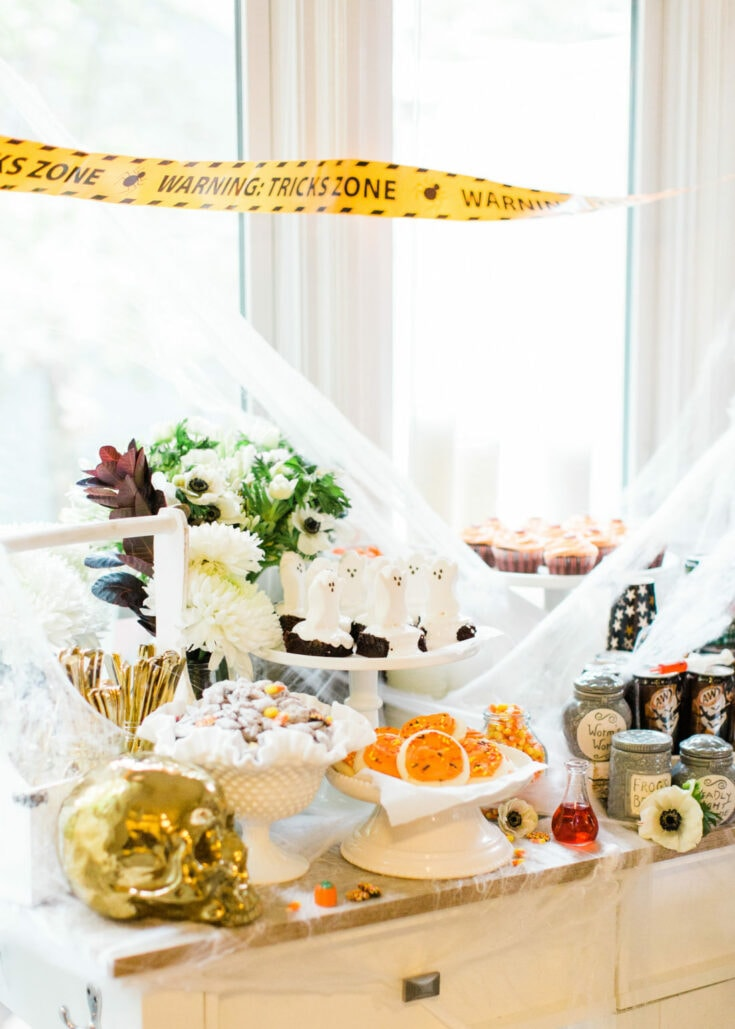 Eat, Sip, and Be Scary Halloween Party Station