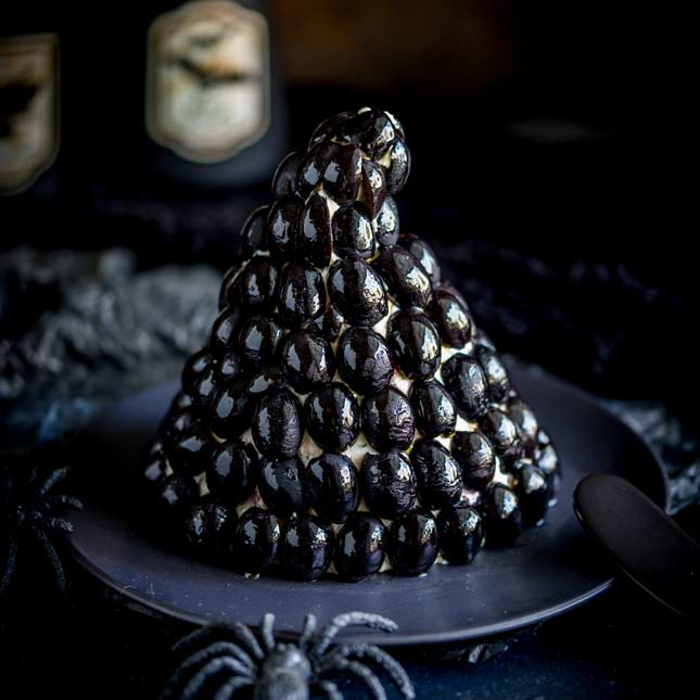 Witches Hat Cheese Ball | Sprinkles and Sprouts