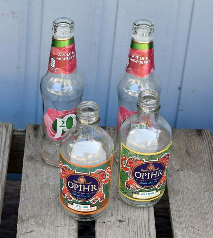 How To Make DIY Halloween Lights With Old Bottles
