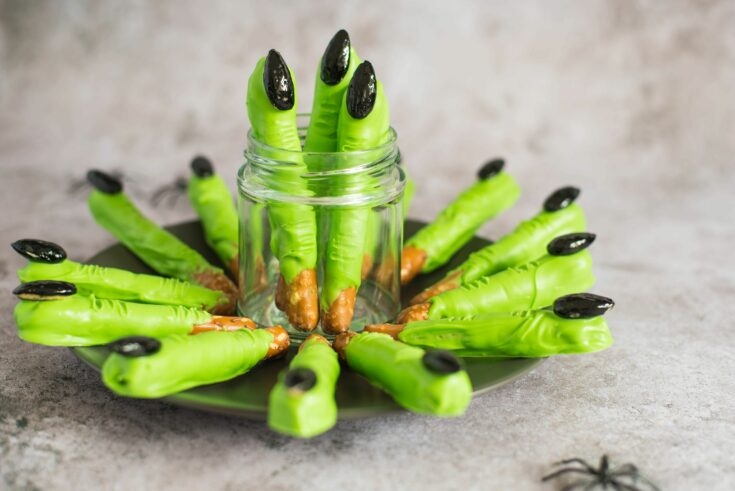 Witch Finger Pretzel Rods Are a Ghoulish Sweet-Salty Treat