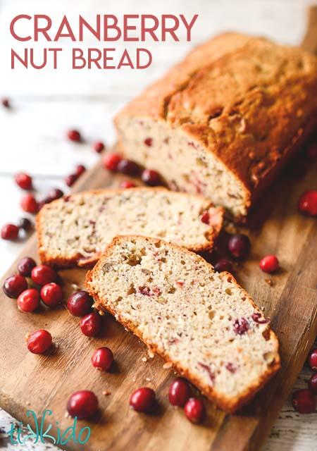 Cranberry Nut Quick Bread Recipe