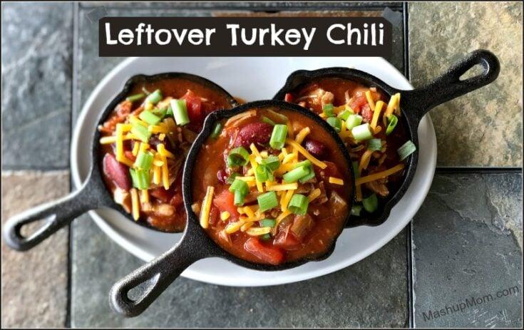 Leftover Turkey Chili