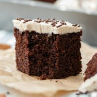 Mexican Chocolate Cake With Cinnamon Frosting