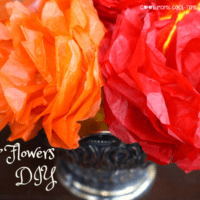 Paper Flowers DIY to Celebrate Elena of Avalor Premiere on The Disney Channel #DSMMC