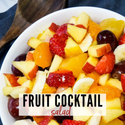Easy Fruit Cocktail Salad