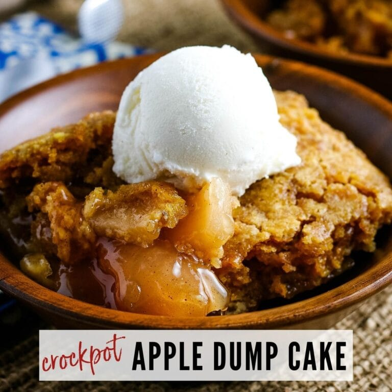 Crockpot Apple Dump Cake