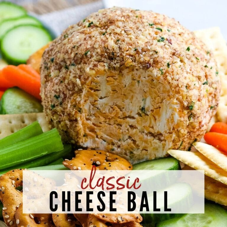The BEST Classic Cheese Ball Recipe