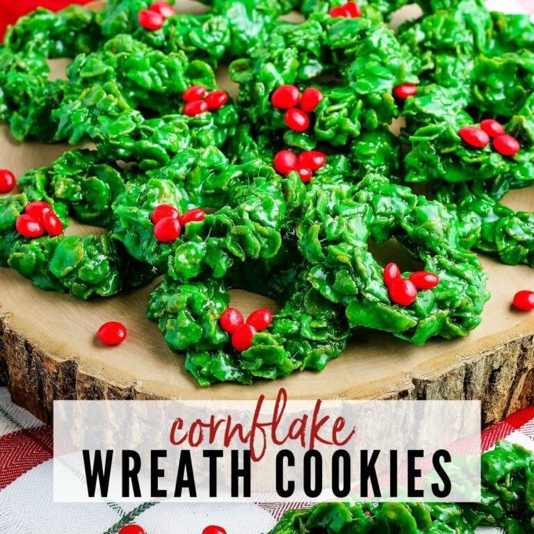 Cornflake Wreaths {No Bake}