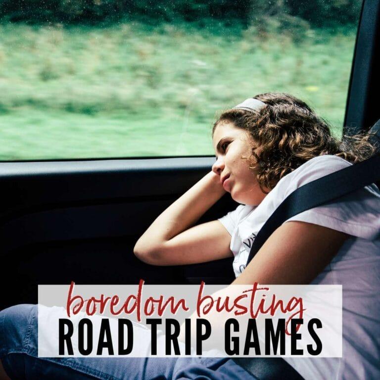 Boredom Busting Road Trip Games for Teens & Tweens