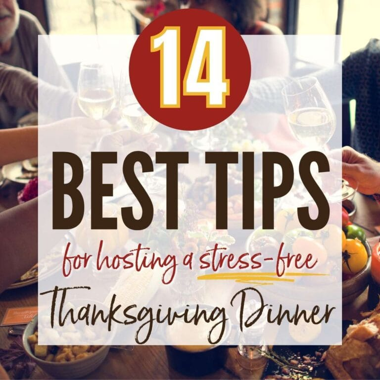 14 Tips for a Stress-Free Thanksgiving Dinner